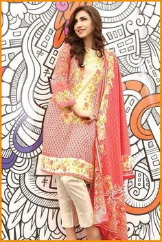 Warda Spring Summer Collection 2016 Vol 1 with Prices   #WARDA #LawnCollection #DressesCollection #Summer