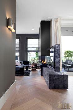 Kolenik Eco Chic Design - Countryside home design - Kolenik eco chic Living Room Modern, Home Living Room, Living Room Designs, Modern Fireplace, Fireplace Design, Modern Interior Design, Home Design, Villa Design, Tadelakt