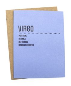 Love our Horoscope cards, makes a perfect simple gift.