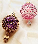 netted beadwork - Google Search