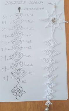 Ela Klementowicz's 860 media content and analytics - Her Crochet Crochet Snowflake Pattern, Christmas Crochet Patterns, Holiday Crochet, Crochet Snowflakes, Crochet Motif, Crochet Doilies, Crochet Flowers, Crochet Christmas Decorations, Crochet Ornaments