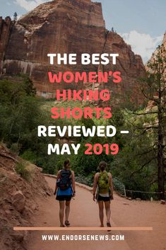 The Best Women's Hiking Shorts Reviewed – May 2019 | For ladies who love to hike, there are specific hiking shorts to choose from. These are usually made of specific materials which are not only lightweight to feel like a second skin, but the material is also designed to be moisture wicking. This means that sweat is taken way from the body and that it doesn't become wet, sticking to your skin and causing chaffing and a generally unpleasant feeling.  #Hiking #hikingshorts #hikinglovers Petite Fashion Tips, Fashion Tips For Women, Cute Gym Bag, Fitness Gadgets, Fitness Hacks, Fall Travel Outfit, Workout Accessories, Fitness Accessories, Hiking Shorts