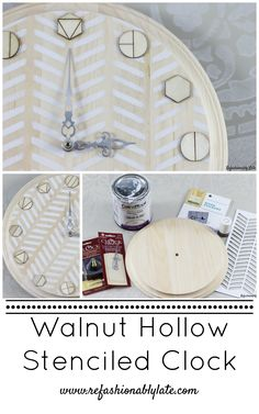 Walnut Hollow Stenci
