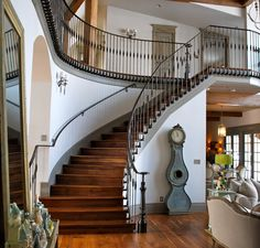 1000 images about stairs curve on pinterest curved - Stairs to second floor design ...