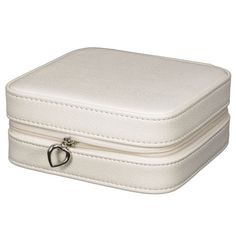 White Faux Leather Travel Jewelry Case with Mirror and Zipper Mele Jewelry http://www.amazon.com/dp/B00ET7EN12/ref=cm_sw_r_pi_dp_nWM-vb13YWJ5X