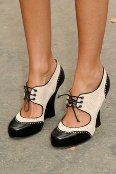 Fashion week Paris - Street style - Shoes severine_prd