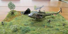 Huey Helicopter Vietnam nice diorama