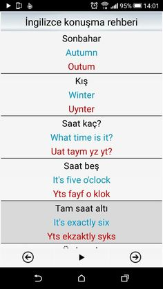 This Pin was discovered by ÜMM English Time, English Course, English Class, English Lessons, Learn English, Learn Turkish Language, Learn A New Language, Language Study, English Language Learning