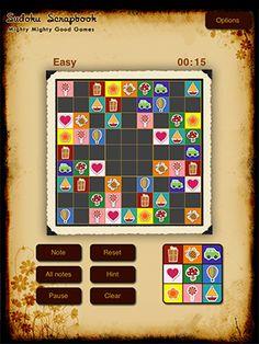 Sudoku Scrapbook HD | Mighty Mighty Good Games