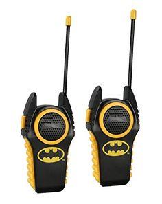 Walkie Talkie 12383 DC Comics Batman Walkie Talkie http://www.amazon.com/dp/B00A6JQ0I6/ref=cm_sw_r_pi_dp_9YJewb15WVFME