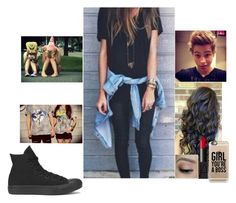 """""""Hanging with Luke (Best Friend)"""" by infinitygangster ❤ liked on Polyvore featuring NARS Cosmetics, Casetify and Converse"""