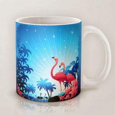 BluedarkArt The Chameleon's Art: Strange, Cute and Colorful Coffee Mugs Gifts