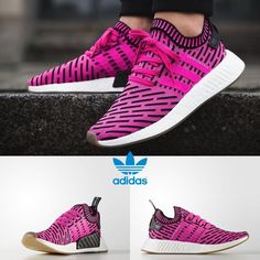 0fa64b74e4240 Adidas Original NMD R2 PK Pink Pink Black Sneakers BY9697 Japan Limited Sz  4-11