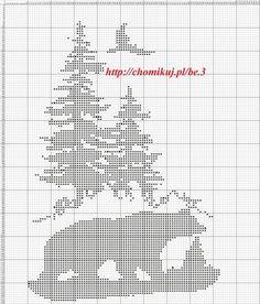 Gallery.ru / Фото #8 - Лесные животные (схемы) 2 - Olgakam