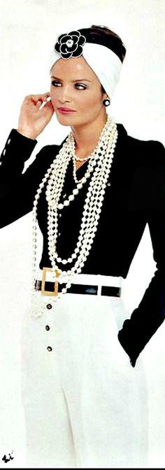 #Chanel pour Christy Turlington