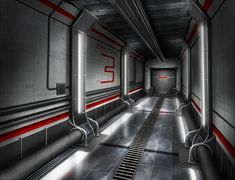 Background design : corridor by ThoRCX.deviantart.com on @deviantART