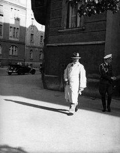 A Day in the Life of Adolf Hitler: June 8, 1937 Here is another installment of the continuing series where we recreate one of Hitler's average days. These are all candids taken by Heinrich Hoffmann, Hitler's personal photographer. Hitler is shown leaving his apartment on Prinzregentenplatz in Munich.