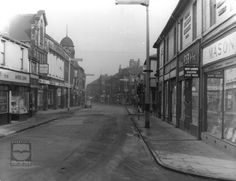 Carlton Street, Castleford West Yorkshire, Black N White, Family History, Street View, Cas, Image, Beautiful, Black White, Black And White