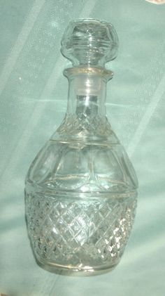 Princess House Crystal Retired Liquor Wine Decanter'