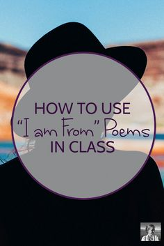 """""""I am from"""" poems make for an easy and rich poetry workshop. The Effective Pictures We Offer Creative Curriculum, Creative Teaching, I Am Poem, Poetry Activities, Poetry Unit, Teaching Poetry, National Poetry Month, Middle School Reading, School Fun"""
