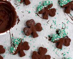 Baileys Salted Caramel Chocolate Shamrocks