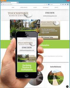 "The new Touchstone Gardens Website is now ""live"" and online at http://touchstonegardens.co.uk/"