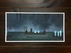 Hey, I found this really awesome Etsy listing at https://www.etsy.com/au/listing/490127734/ltd-edition-fine-art-print-charons