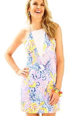 ee4b2ce4840 Lilly Pulitzer Womens Pearl Shift Dress (Size 0) Outfit Goals