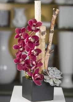 Inspirational orchid Flower Arrangement Ideas