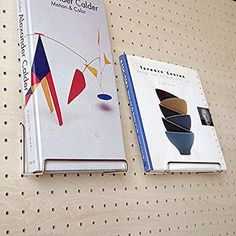 Amazon | ★有孔ボード用 BOOKスタンド 【1個入】 | DIY収納用パーツ・キット
