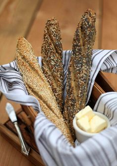 KAF gluten-free baguette - SO excited to try this soon! From the guys at Artisan Bread in Five Minutes a Day