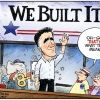 Romney is jingoistic and bellicose, unfit to be a world leader.