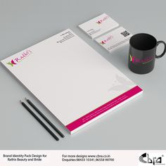 Brand Identity Pack Design for Rathis Beauty And Bride.  For Enquiries: Mail: reach@cbra.co.in, Ph: 98433 10341, 0452 2320341 Check out more such designs on our website: www.cbra.co.in