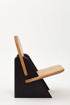"Dolmena Black & Oak – Studio of Egor Bondarenko ""PolliProduct … – Woodworks Diy Furniture Table, Folding Furniture, Small Furniture, Affordable Furniture, Diy Chair, Handmade Furniture, Furniture Design, Woodworking Furniture, Tea Table Design"