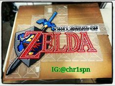 Legend of Zelda perler bead art by chr1spn