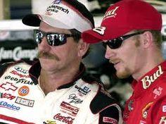 Dale Earnhardt Sr. and Dale Earnhardt Jr. Love them both!!!