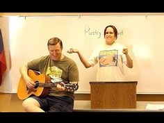 """See YouTube video of Janet Kuypers reading her poem """"Boron from the Big Bang"""" from her book """"The Periodic Table of Poetry"""", then covering the Beatles song """"Yesterday"""" with John on acoustic guitar live 3/10/18 at """"Poetry Aloud"""" (filmed from a Panasonic Lumix 2500 camera)."""