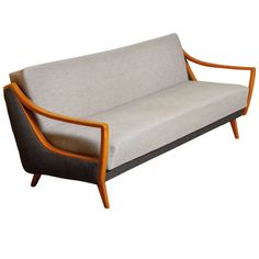 Sofa or Daybed Designed by Wilhelm Knoll   From a unique collection of antique and modern sofas at https://www.1stdibs.com/furniture/seating/sofas/