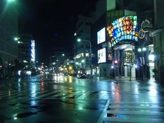 I forgot how beautiful Kobe looks during a rainy night.