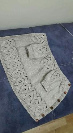 lace baby jacket knit with Baby Knitting Patterns, Baby Sweater Patterns, Baby Cardigan Knitting Pattern, Knitted Baby Cardigan, Knit Baby Sweaters, Knitting For Kids, Crochet For Kids, Knitting Designs, Crochet Baby