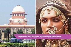 #Exclusive Good New for Padmaavat fans, Supreme Court has given a green Signal Padmaavat https://loom.ly/owra304  #Padmaavat #Padmavati #Bollywood #BollywoodNews #DeepikaPadukone #ShahidKapoor #RanveerSingh #SanjayLeelaBhansali