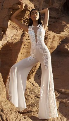 Pnina Tornai- OMG this is perfect, attach a gorgeous bottom for the wedding then take off for an amazing bridal pantsuit for the reception! so my style