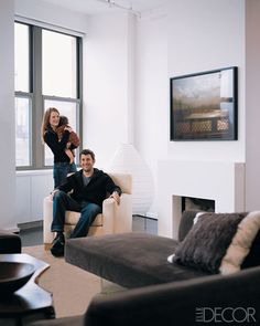 When Julianne Moore and Bart Freundlich moved to a West Village loft, his architect brother, Oliver, did the revamping honors.