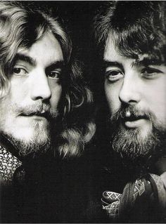 http://custard-pie.com/ Led Zeppelin - Robert Plant and Jimmy Page