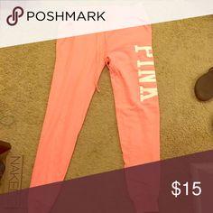 Pink jogger sweats Pink jogger sweatpants PINK Victoria's Secret Pants Track Pants & Joggers