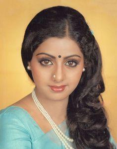Sridevi: Sridevi in the Beautiful Girl Indian, Most Beautiful Indian Actress, Beautiful Actresses, Indian Film Actress, Indian Actresses, 80s Actresses, Hindi Actress, Indian Celebrities, Bollywood Celebrities