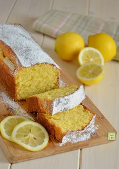 plumcake al limone gp Loaf Cake, Bread Cake, Biscuits, Cheesecake, Plum Cake, Sweet Bread, Coffee Cake, Cornbread, Nutella