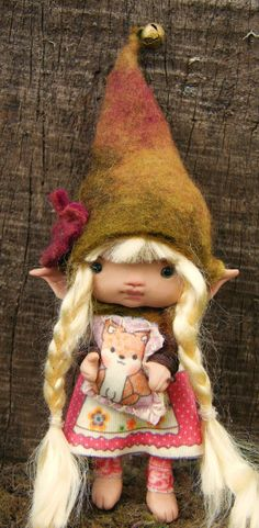 sweet tiny ooak posable 4 inch inch fairy by throughthemagicdoor