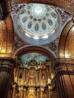 Compania de Jesus, Quito, Ecuador. Beautiful!