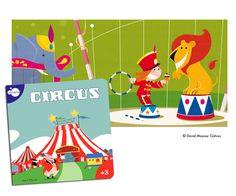 Circus. Illustrated book. Imaginarium